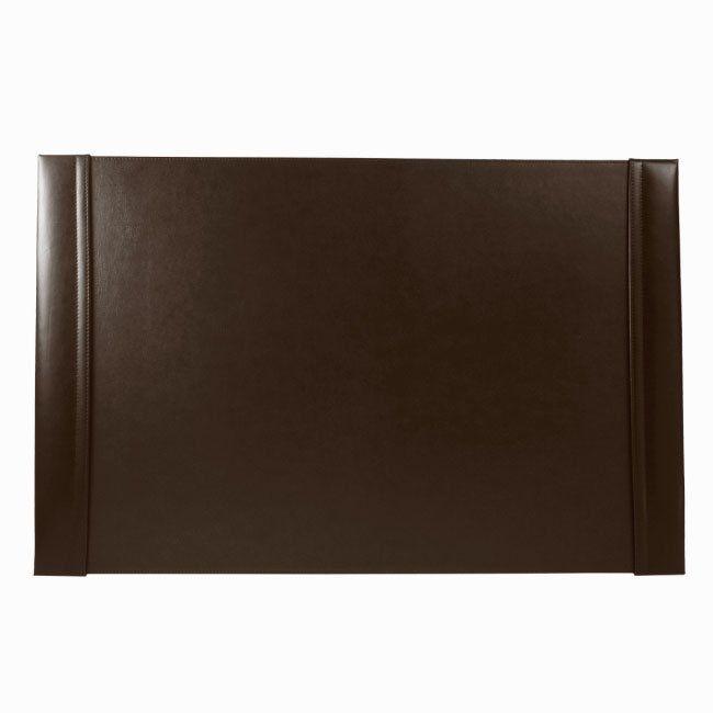 Schreibunterlage Cardiff mit Einsteckleisten Leder braun 66 x 43 cm