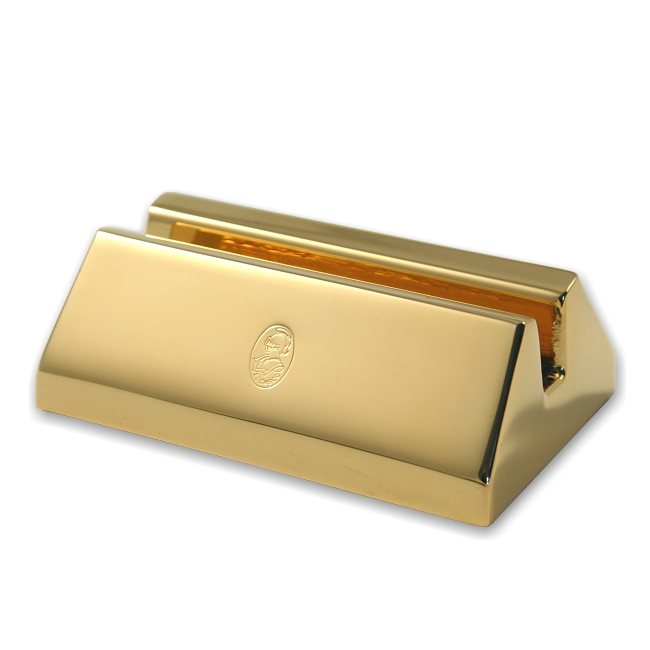 El Casco Visitenkartenhalter M670L Gold – Bild 1