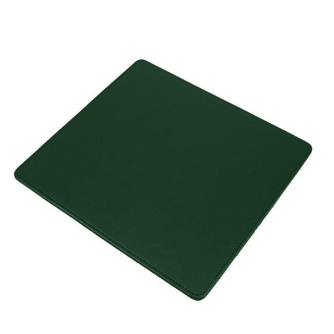 Mouse Pad Klassik Leder grün – Bild 1