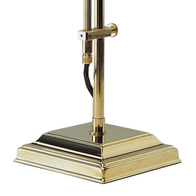 Bankers Lamp grün-Messing poliert – Bild 3