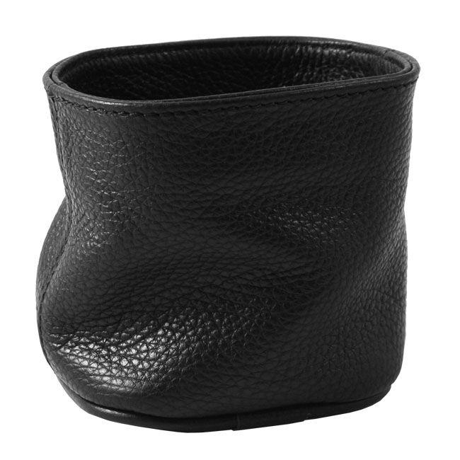 Stifteköcher Soft Leder schwarz – Bild 1