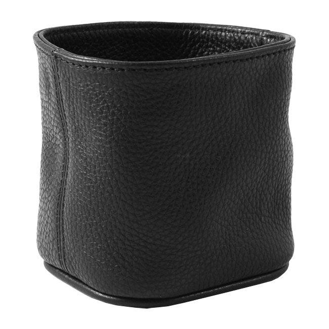 Stifteköcher Soft Leder schwarz – Bild 2