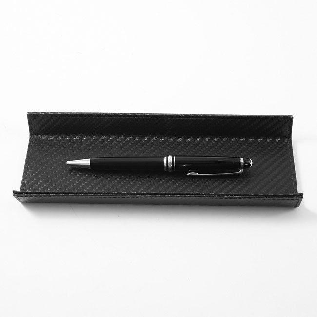 Stifteschale Carbon Leder – Bild 3