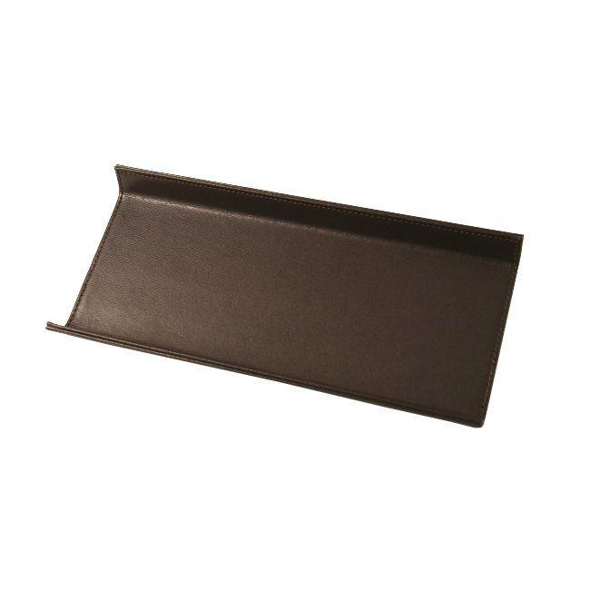 Stiftablage Klassik Leder dunkelbraun – Bild 1