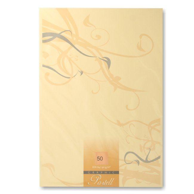 Graphic Pastell A4 Papier 50 Blatt chamois