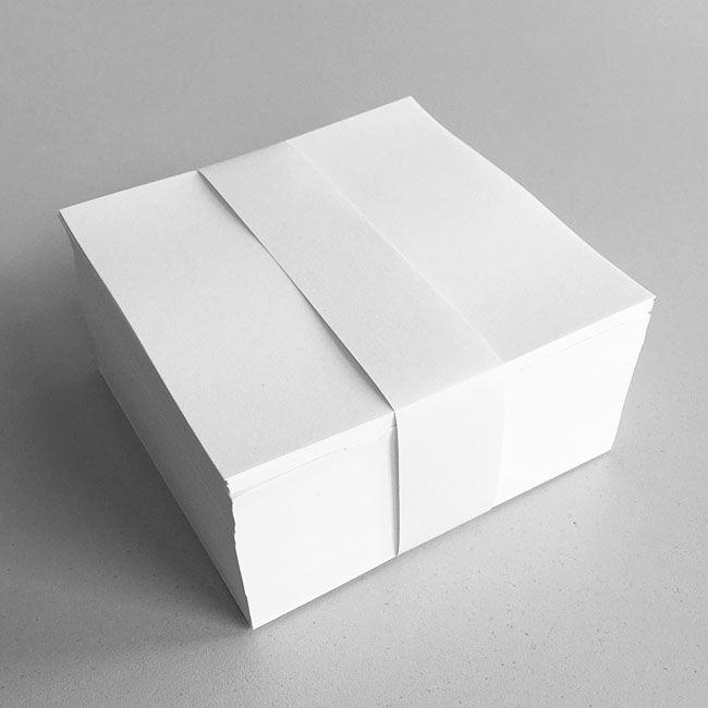 Notizzettel lose 10x10 cm