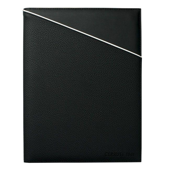 Cerruti 1881 A4 Schreibmappe Spring Black – Bild 2