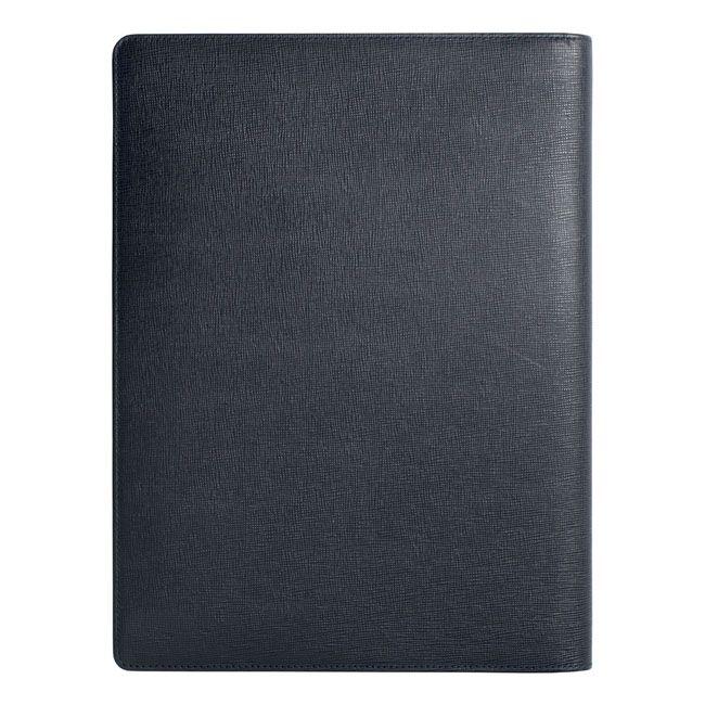 A4 Schreibmappe Tradition Blue Leder – Bild 4
