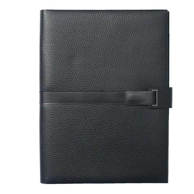 A4 Schreibmappe Pure Leder – Bild 3