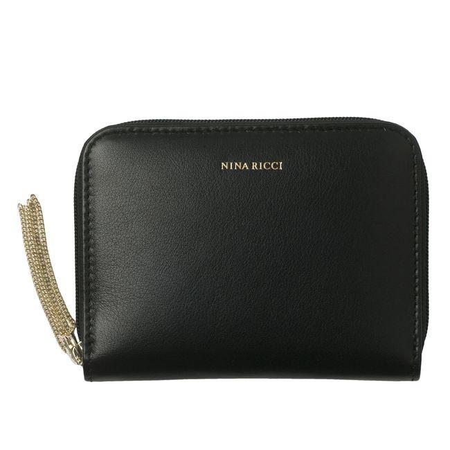 Nina Ricci A7 RV-Lederetui Echappée Noir – Bild 2