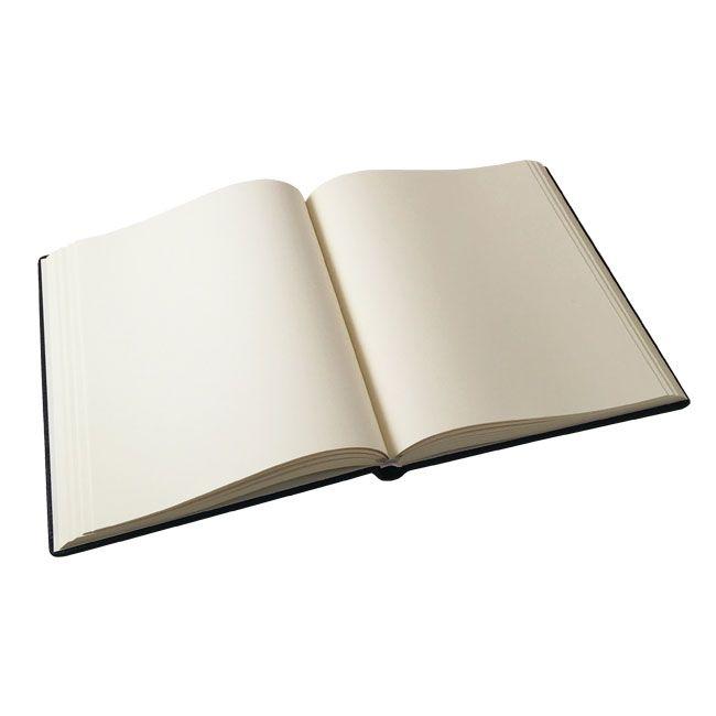 Gästebuch Como Linea Ledereinband braun – Bild 3