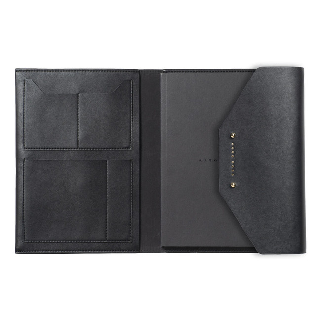 Hugo Boss A5 Konferenzmappe Elegance Black – Bild 1