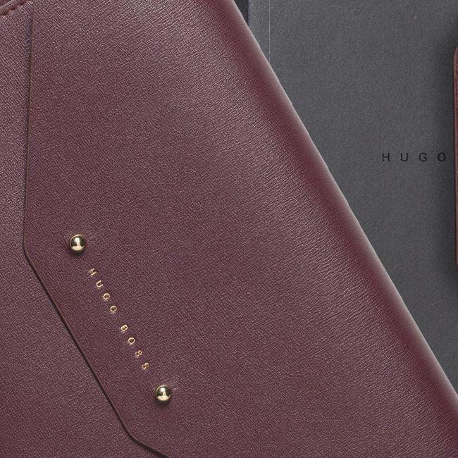 Hugo Boss A5 Konferenzmappe Elegance Burgundy – Bild 4