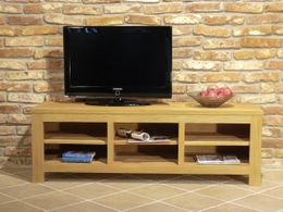 TV Board Bavaria 9057 Fichte Massivholz gebürstet