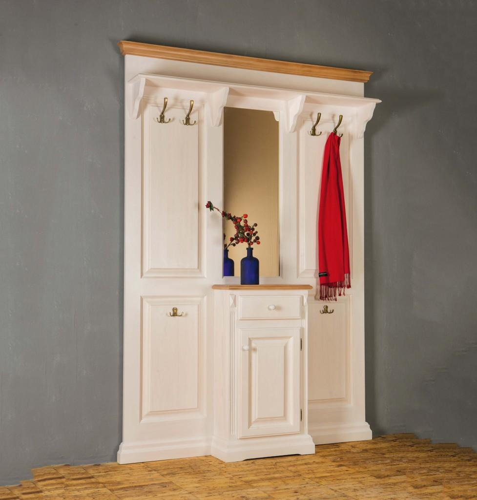 garderobe wandpaneel weiss garderobe halifax mit krben weiss landhaus shabby pickupmbel de with. Black Bedroom Furniture Sets. Home Design Ideas