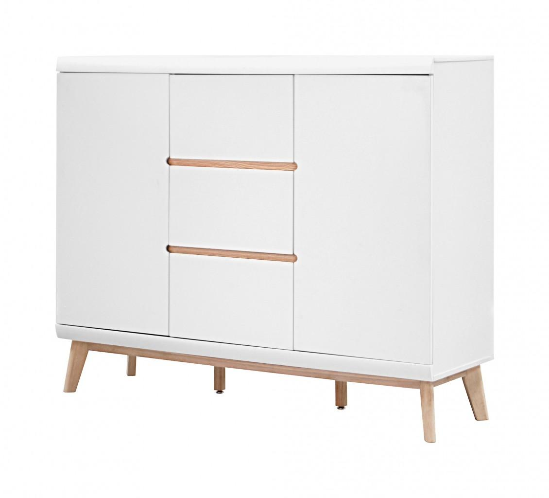 Highboard jazz hoch kommode 2 t ren 3 schubladen skandi design for Design kommode