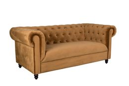 Sofa CHESTER Samt Golden Brown von DutchBone