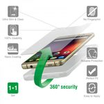 4smarts 360° Protection Set transparent für LG Q6 Blister 001