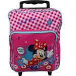 Minnie Mouse Trolley Koffer Kinderkoffer Rucksack Reisekoffer Disney Pink 7432 001