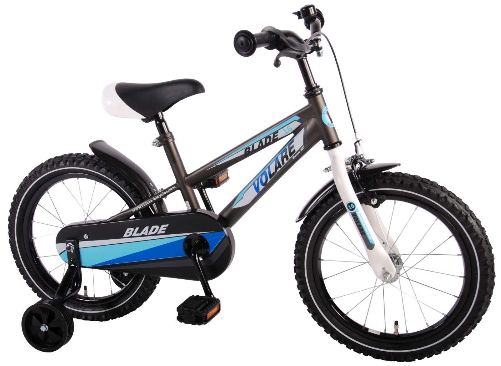 16 zoll fahrrad qualit ts kinderfahrrad mit st tzr der. Black Bedroom Furniture Sets. Home Design Ideas