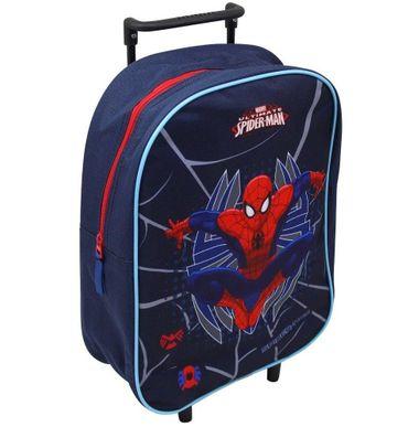 Spiderman Trolley Kindertrolley Kinderkoffer Tasche Koffer Marvel navy 8611