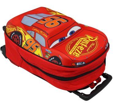 Disney Cars 3 Trolley Rucksack Kinderkoffer Auto McQueen Tasche Handgepäck 8636