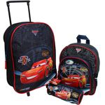 Disney Cars 3 Set Rucksack Trolley Schlamperrolle 001