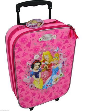 Prinzessin Koffer Trolley Kinderkoffer Handgepäck Disney Princess Pink 6623