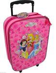 Prinzessin Koffer Trolley Kinderkoffer Handgepäck Disney Princess Pink 6623 001
