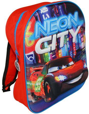 Disney Cars Rucksack 3D Motiv McQueen Auto Car neon city  Kinderrucksack  281475
