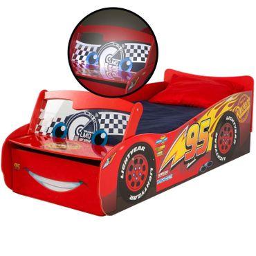 Disney Cars Qualitäts Kinderbett Kinder Bett McQueen Kinderzimmer Autobett 452CA