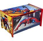 SpiderMan Spielzeugkiste Aufbewahrungskiste Truhe Holz Spider Man 84816SM 001