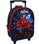 Spiderman Trolley Rucksack 2 in 1 Kinderkoffer mit Ziehgriff Spider Man 6958 001