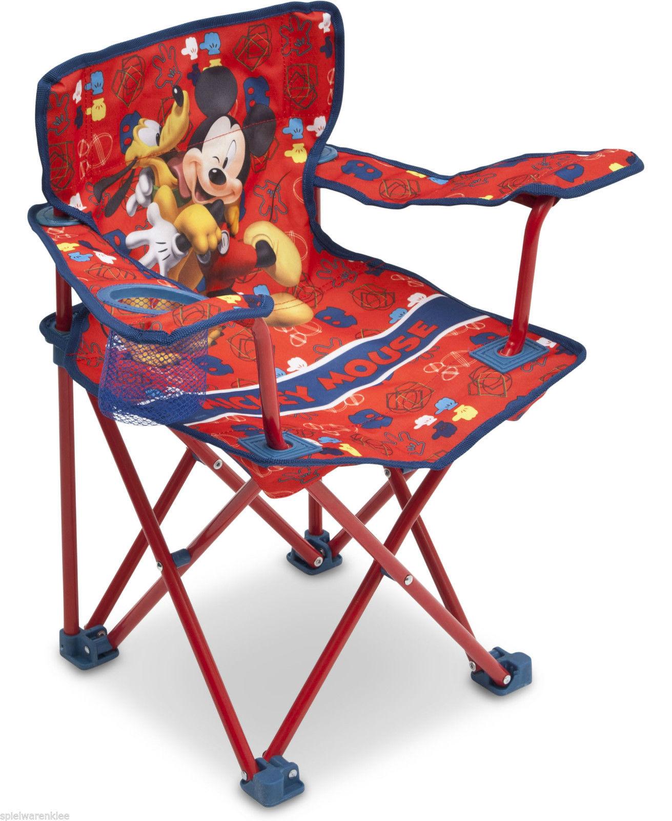 Micky Maus Klappstuhl Campingstuhl Sessel Kindersessel