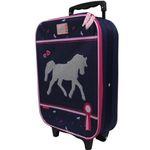 Koffer Trolley Kinderkoffer Handgepäck Kindertrolley Einhorn Pferd Mädchen 8289 001