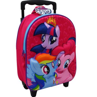 My Little Pony Trolley 7,5L Rucksack Kinderkoffer Koffer Kindertrolley Pink 8207
