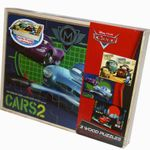 Disney Cars Puzzle Kinderpuzzle Holzpuzzle Holzspielzeug 3 Puzzles in einer Box 001