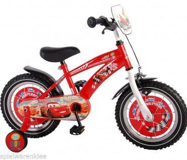 14 Zoll Fahrrad Disney Cars Kinderfahrrad Kinder Jungen Rad McQueen Rot 11448