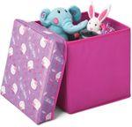 Hello Kitty 2in1 Hocker Spielzeugkiste Spielzeugtruhe Truhe Spielzeugbox 85697HK 001