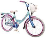 20 Zoll Kinderfahrrad Eiskönigin Fahrrad Mädchen Disney Frozen Anna & Elsa 52061 001