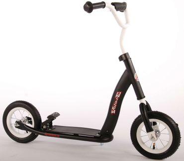 Qualitäts Scooter 10 Zoll Roller Kinderroller Tretroller Schwarz Volare 1005