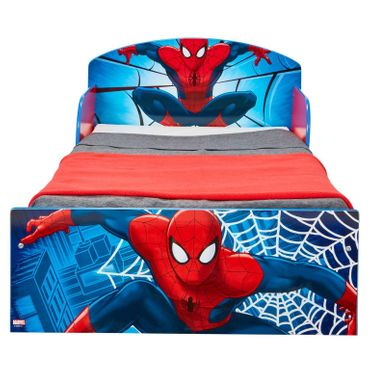 Spiderman Bett 140 x 70 cm Kinderbett Kindermöbel Marvel Spider Man Möbel 505SIA