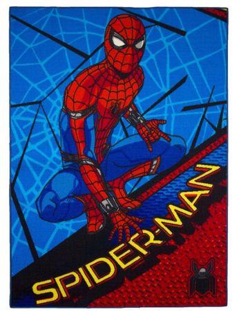 Spiderman Teppich 133 x 95 cm Kinderteppich Kinder Spielteppich Spider Man 02