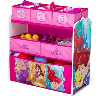 Disney Princess Regal Kindermöbel Spielzeugkiste Kinderregal holz Prinzessin