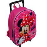 Disney Minnie Mouse Trolley Rucksack Kindertrolley Koffer Tasche Mädchen 8640 001