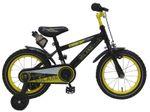 14 Zoll Fahrrad Rücktritt Stützräder Kinderfahrrad Jungen schwarz 81415  001