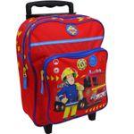 Feuerwehrmann Sam Trolley Koffer Kinderkoffer Rucksack Reisekoffer Rot 8998 001