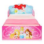 Disney Princess Bett 70x140 Kinderbett Kindermöbel Babybett Prinzessin Bett Pink 001
