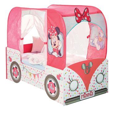 Minni Maus Bett 140x70cm Kinderbett Kindermöbel Mädchen Disney Minnie Mouse 452M