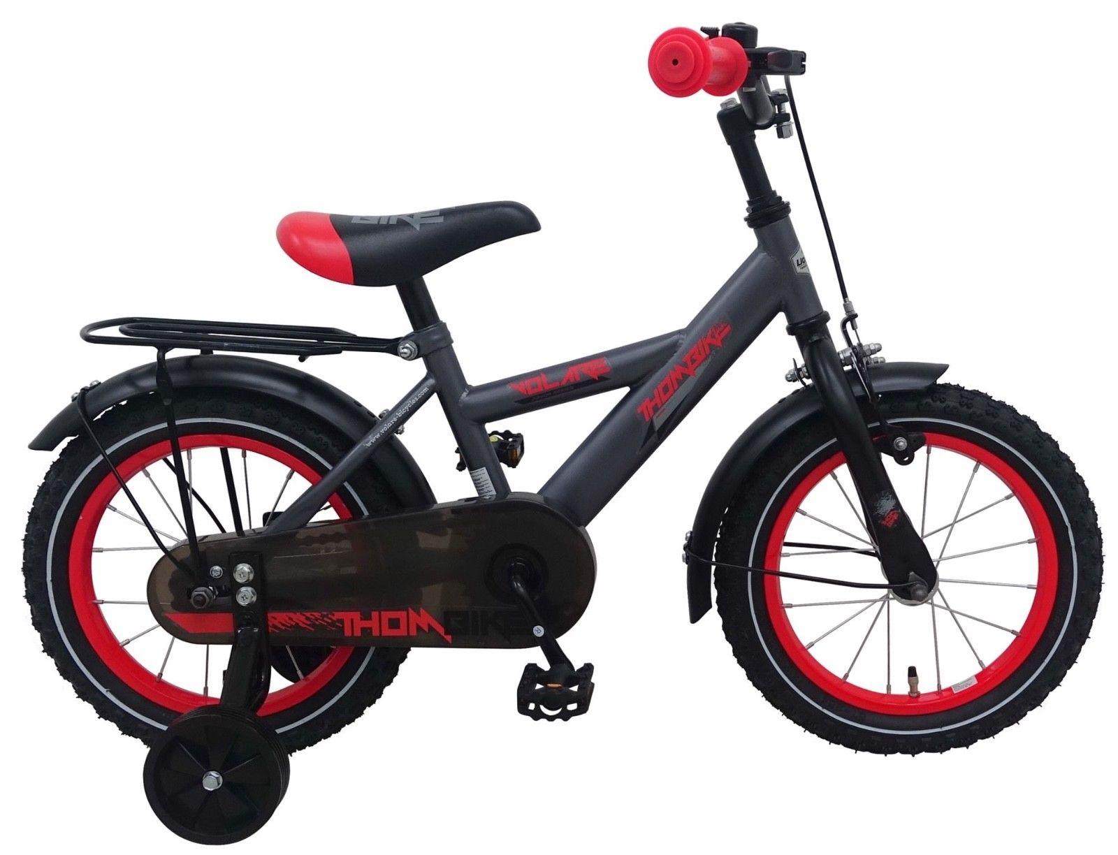 fahrrad 14 zoll jungen kinderfahrrad jungenfahrrad r cktrittbremse grau 81418 ebay. Black Bedroom Furniture Sets. Home Design Ideas
